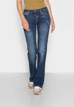 Guess - SEXY BOOT FLAPS - Bootcut jeans - blue river