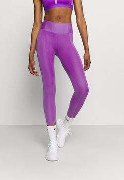 Nike Performance - ONE LUXE CROP - Tights - wild berry