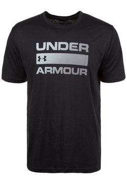 Under Armour - HEATGEAR - T-Shirt print - black