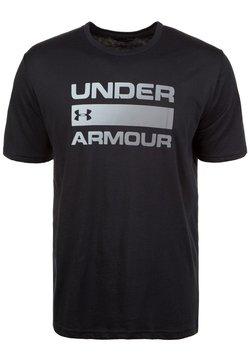 Under Armour - HEATGEAR - T-Shirt print - black