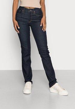 Levi's® - Slim fit jeans - dark-blue denim, rinsed denim