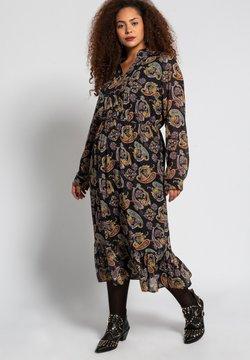Studio Untold - DAMEN GROSSE GRÖSSEN PAISLEY - Korte jurk - schwarz