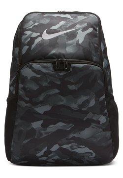 Nike Performance - BRASILIA - Reppu - light smoke grey black metallic cool grey