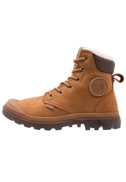 Palladium - PAMPA SPORT WATERPROOF SHEARLING - Bottes de neige - mahogany/chocolate