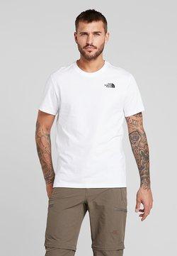 The North Face - REDBOX TEE - T-Shirt print - white