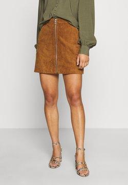 ONLY Petite - ONLCAMARA SKIRT - Leather skirt - argan oil