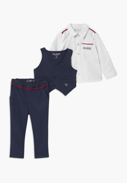 Guess - BABY SET - Kamizelka garniturowa - bleu/deck blue