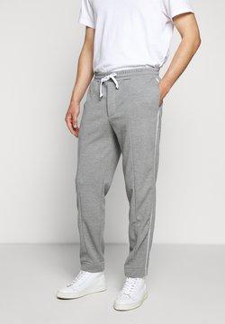Club Monaco - SIDE PANEL PANT - Jogginghose - heather grey