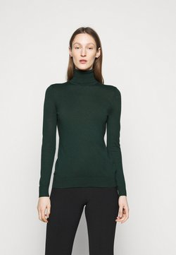 Lauren Ralph Lauren - CASH PLUS TURTLENECK - Strickpullover - deep pine