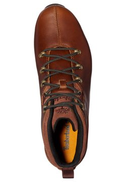 Timberland - SPLITROCK - Sportlicher Schnürer - md brown full grain