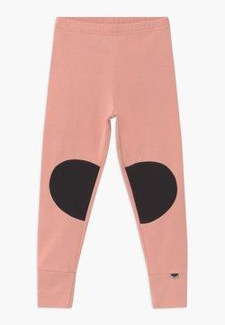 Papu - PATCH UNISEX - Legging - dusty pink/black