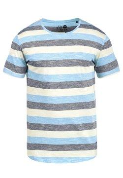 Solid - RUNDHALSSHIRT THICCO - T-Shirt print - light blue
