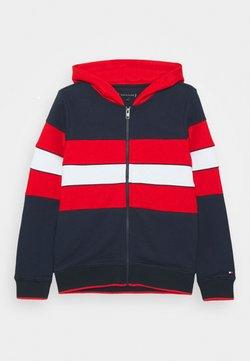 Tommy Hilfiger - COLORBLOCK HOODIE - veste en sweat zippée - blue