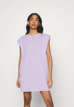 Noisy May - NMMINNA PADDED DRESS - Vestido ligero - pastel lilac