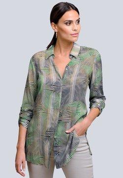 Alba Moda - Hemdbluse - khaki/grün/beige
