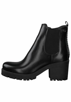 Tamaris - CHELSEA - Ankle Boot - black/struct.