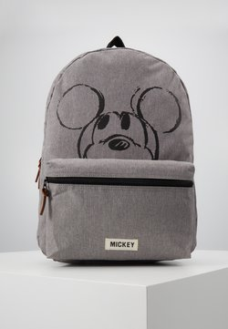 Kidzroom - BACKPACK DISNEY MICKEY MOUSE REPEAT AFTER ME - Ryggsäck - grey