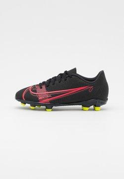 Nike Performance - MERCURIAL JR VAPOR 14 CLUB FG/MG UNISEX - Scarpe da calcetto con tacchetti - black/cyber
