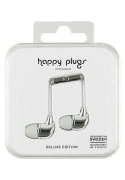 Happy Plugs - DELUXE - Høretelefoner - silver