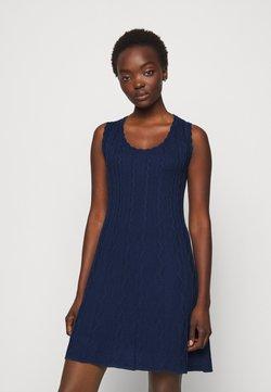 M Missoni - ABITO SENZA MANICHE - Vestido de punto - dark blue
