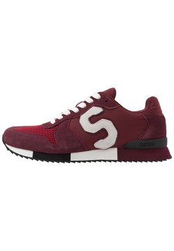 Superdry - RETRO RUNNER - Sneaker low - oxblood