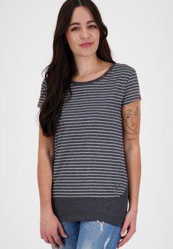 alife & kickin - COCOAK  - T-Shirt print - marine