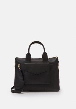 Zign - LEATHER - Notebooktasche - black