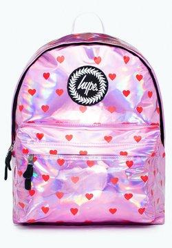 Hype - HEARTS - Reseryggsäck - pink