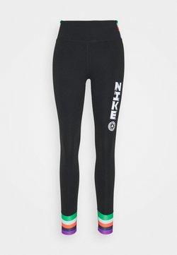 Nike Performance - ONE - Tights - black/white