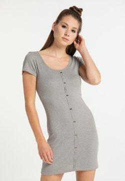 myMo - Vestido de tubo - grau melange