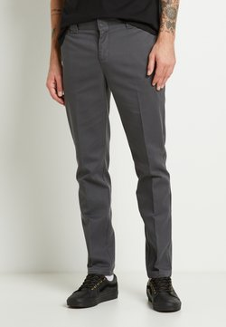 Dickies - 872 SLIM FIT WORK PANT - Chinos - charcoal grey