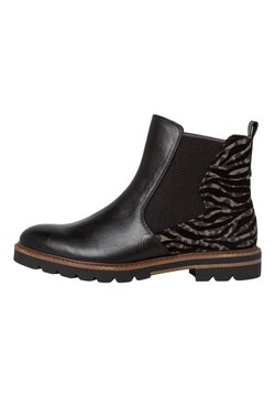 Marco Tozzi - CHELSEA BOOT - Ankle Boot - black comb