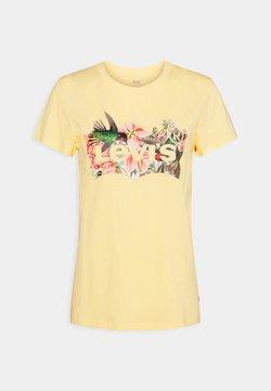 Levi's® - THE PERFECT TEE - T-shirt print - batwing fill hummingbird golden haze