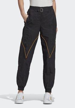 adidas Originals - Paolina Russo - Jogginghose - black/black/active gold