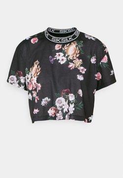 SIKSILK - PRESTIGE BOX FIT - T-Shirt print - multi