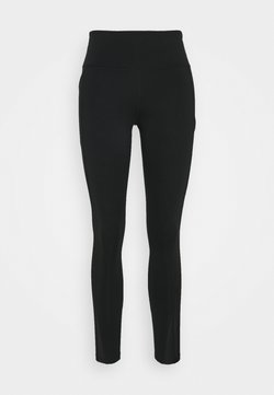 Nike Performance - EPIC LUXE COOL - Tights - black/silver