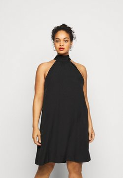 Vero Moda Curve - VMJASIKA SHORT DRESS - Freizeitkleid - black