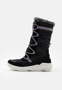 Superfit - TWILIGHT - Snowboot/Winterstiefel - schwarz/lila