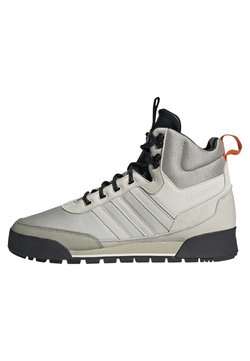 adidas Originals - BAARA BOOTS - Sneaker high - white/grey