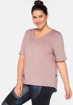 Sheego - T-Shirt print - rosenholz