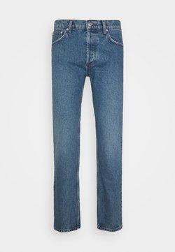 sandro - SLIM - Jeans Slim Fit - blue vintage denim