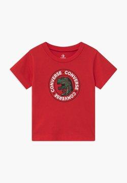Converse - DINO WORDMARK TEE - T-shirt print - university red