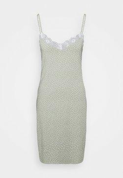 Lindex - NIGHT DRESS SLIP JOLO - Nachthemd - dusty green