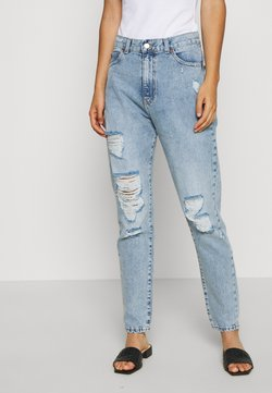 Dr.Denim - NORA - Jeans relaxed fit - destiny light blue ripped