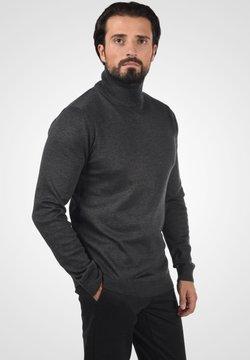 Solid - AGRIO - Strickpullover - dark grey melange
