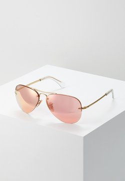 Ray-Ban - 0RB3449 - Aurinkolasit - gold-coloured/pink flash/copper
