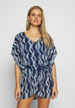 Chantelle - DEEP SEA KAFTAN - Beach accessory - blue waves