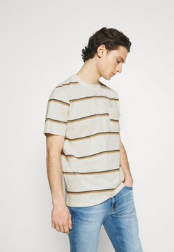 Wood Wood - BOBBY STRIPE - T-Shirt print - offwhite