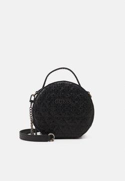Guess - WESSEX CIRCLE CROSSBODY - Handtasche - black