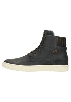 Manfield - Bottines à lacets - black